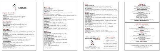 small menu pic