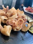 Calamari con zucchini a scapece